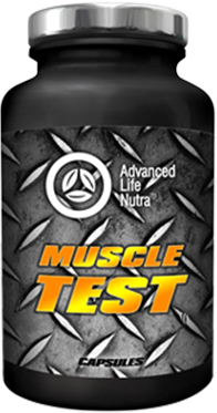 muscle test powder